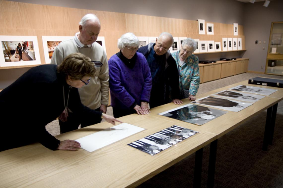 The Center for Creative Photography is the premier research collection of American photographic fine art and archives.